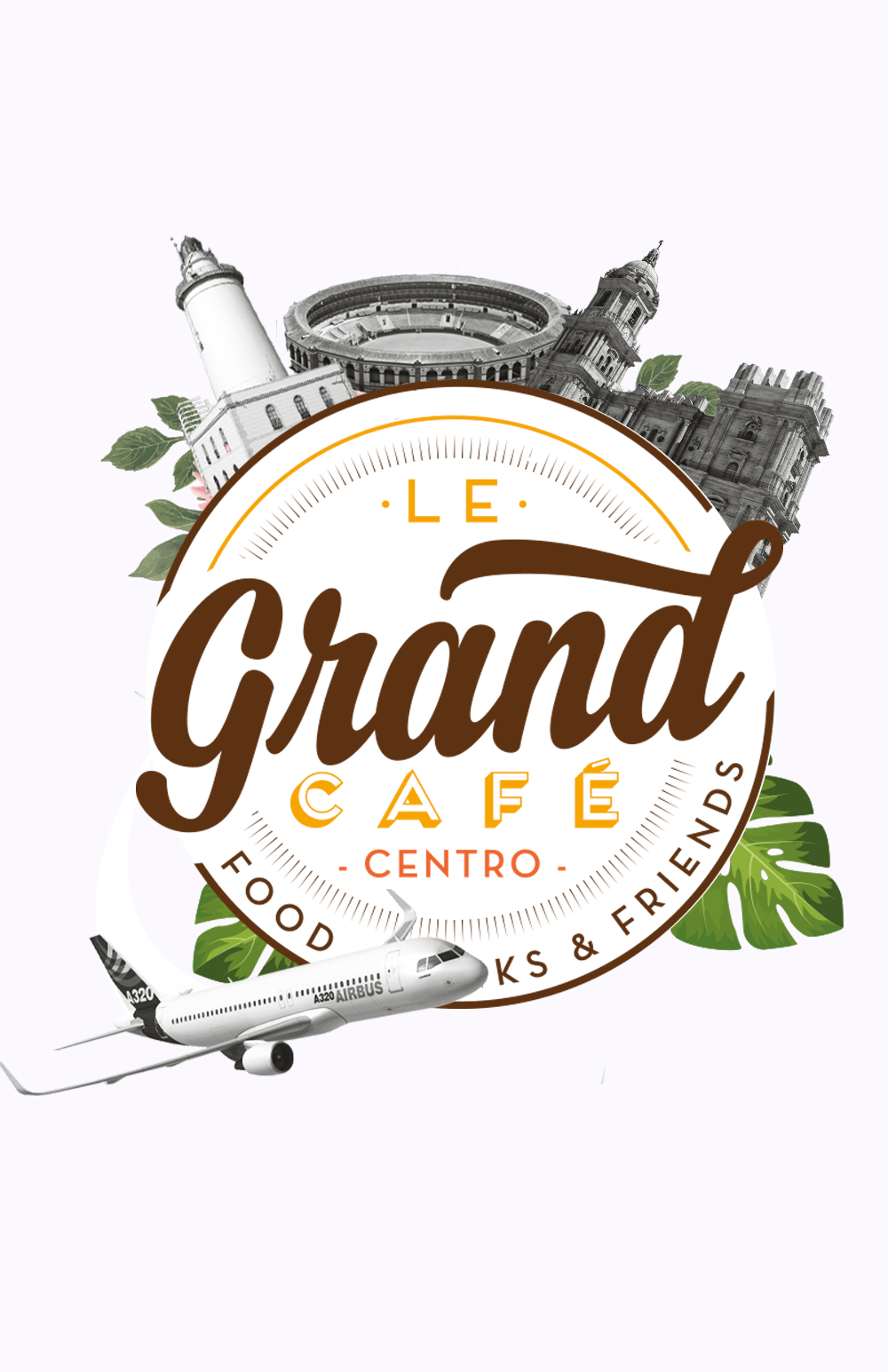 Le grand cafe front